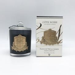 COTE NOIRE JASMINE FLOWER TEA - 450g GOLD BADGE CANDLES