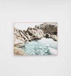 Peninsula Rockpool Framed Canvas