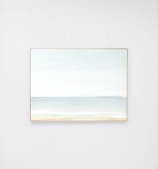Ocean Horizon Framed Canvas