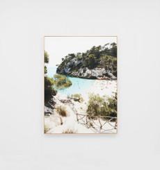 Hidden Paradise Framed Canvas