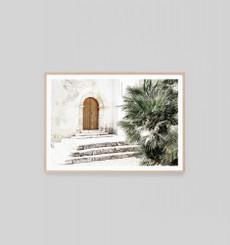 Ancient Doorway - Framed Print