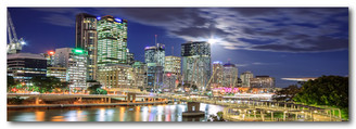 BRISBANE AT NIGHT - ORIGINAL