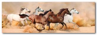 WILD HORSES - ORIGINAL - 158 X 53cm