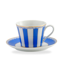 Carnivale Dark Blue Cup & Saucer Set