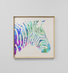 VIBRANT ZEBRA - LIGHT