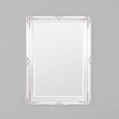 JULIETTE ANTIQUE SILVER MIRROR 73X103CM.  TRADITIONAL STYLE MIRROR FEATURING A DETAILED ANTIQUE SILVER FRAME.  AVAILABILITY: USUALLY SHIPS IN 2-4 WEEKS.