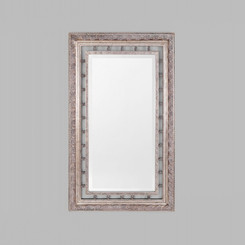 NEO CLASSICAL SILVER MIRROR.  TRADITIONAL STYLE MIRROR WITH A DECORATIVE ORNATE SILVER FRAME.  DIMENSIONS: 98X159(CM).  AVAILABILITY: USUALLY SHIPS IN 2-4 WEEKS.