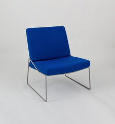 ONLI CHAIR: ELECTRIC BLUE (WITH GREY FRAME)