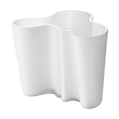 IITTALA ALVAR AALTO COLLECTION - WHITE VASE