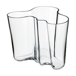 IITTALA ALVAR AALTO COLLECTION - CLEAR VASE