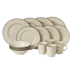 Royal Doulton Gordon Ramsay Union St Café 16pce Dinner Set Cream