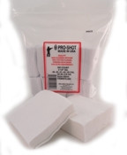 "Pro-Shot Products - .17-.22 Cal. Rimfire 3/4"" Square 500CT. Patches"