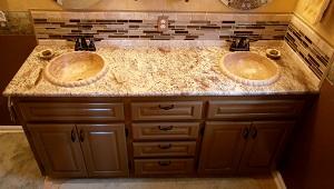 TashMart recessed stone sink