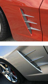 C6 Corvette Side Screens and Accent Spears