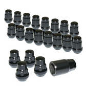 Wheel Lug Nuts & Locks (Black)