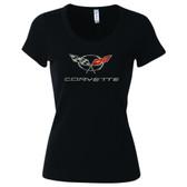 C5 Rhinestone T Shirt