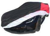 C7 EXTREME DEFENDER CAR COVER RED/BLACK