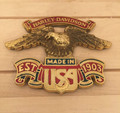 Harley-Davidson est. 1903 Made in USA Sissybar Medallion ( preowned)