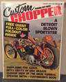 Custom Chopper  Magazine August 1974