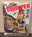Custom Chopper  Magazine December 1973