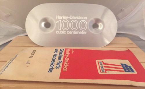 NOS HARLEY-DAVIDSON 1000 cc Air Cleaner Cover Insert # 29237-78