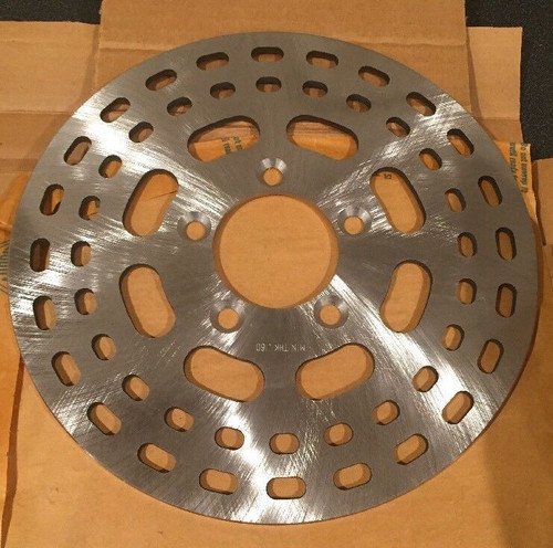 NOS ORIGINAL HARLEY DAVIDSON SCREAMIN EAGLE 10 IN SLOTTED BRAKE ROTOR 44140-83 , SHOP THE GARAGE