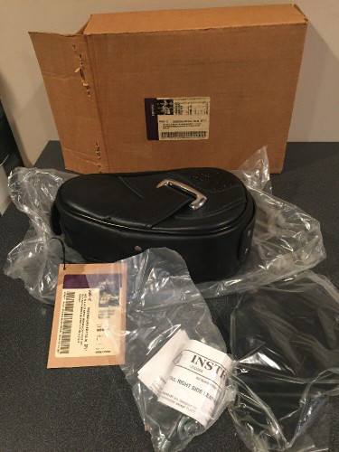 NOS HARLEY-DAVIDSON LOGGERHEAD LARGE LEATHER RIGHT SIDE TOOLBOX 64246-97 SOFTAIL