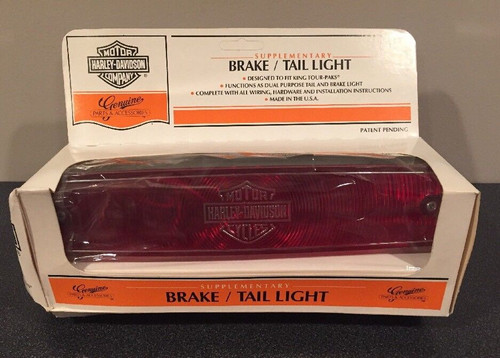 NOS HARLEY-DAVIDSON 68009-98 SUPPLEMENTAL BRAKE TAIL LIGHT FOR KING TOUR PAK (OPEN BOX)