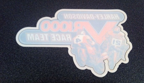 RARE NOS Harley-Davidson VR1000 Racing Team Window Decal
