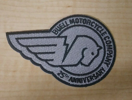 NOS Buell 25th Anniversary Patch
