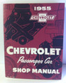 1955 Chevrolet passenger car  factory shop manual (used)