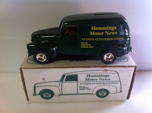 Ertle Hemmings Motor News  Delivery Wagon Dime bank