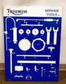 Triumph Motorcycles dealer service tools metal holder/sign (used)