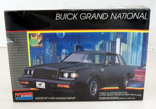 Monogram Buick Grand National 1 24 Model Nib Bingo S