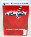 Washington Capitals 10 DVD set- 10 Greatest Games...NIB