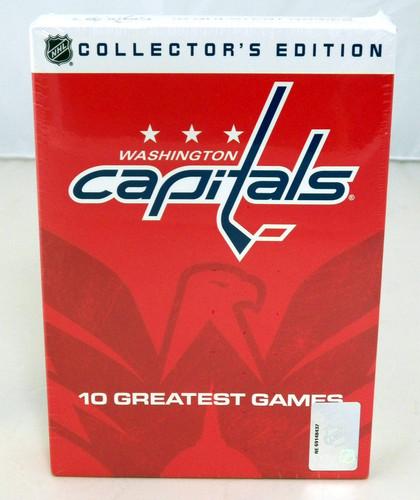 Washington Capitals 10 DVD set- 10 Greatest Games...NIB