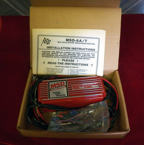 MSD 6200  6-A/T Multiple Spark Ignition Box...NEW in box