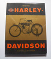 Harley-Davidson 1903-1993 Historical Overview softcover book (used)