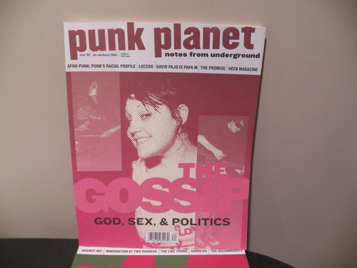 10 Back Issues of Punk Planet Magazine