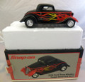 Snap-On Tools 1934 Ford Three Window Coupe Street Rod dime bank 1:25 die-cast