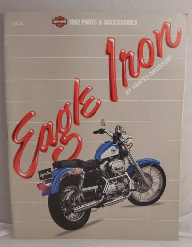 1992 Harley-Davidson Eagle Iron Parts & Accessories Catalog