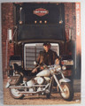 1990 Harley-Davidson Accessories Catalog Willie G. & first year Fatboy on cover