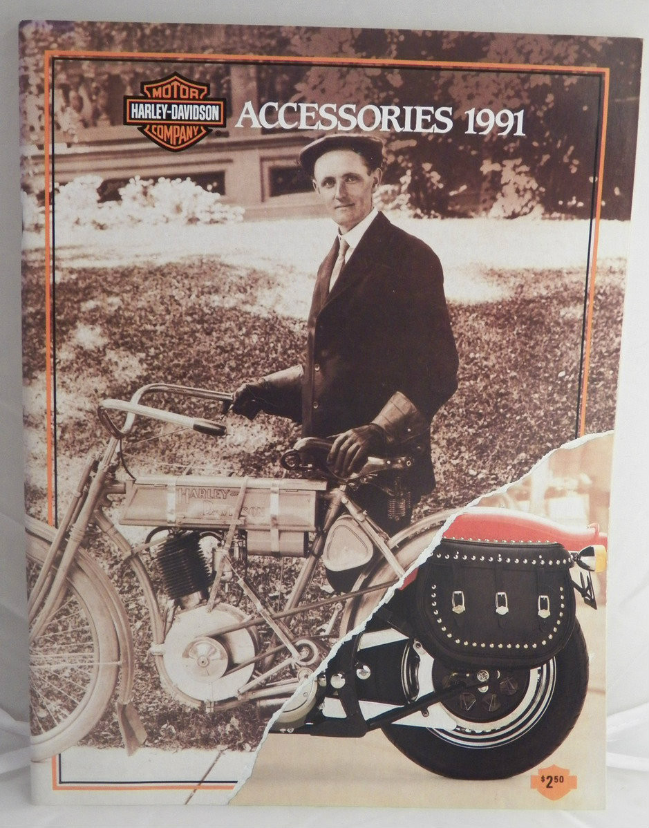 1991 harley davidson accessories catalog bingo 39 s swap meet garage. Black Bedroom Furniture Sets. Home Design Ideas