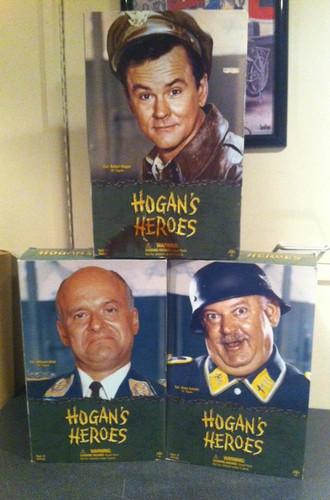 Hogans Heroes SET OF 3 Sideshow 12 in. figures Hogan, Klink, Shultz in Boxes