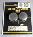 Custom Chrome 14-314 Chrome Rear Axle Cap Kit 57-80 Sportster,73-80 4 -speed Fl & FX, 81 FXWG NOS