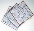 Stitched Convention Card Holders