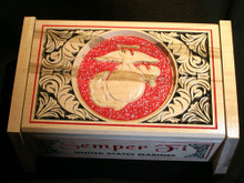 3D USMC Keepsake Box TOP VIEW (typical)