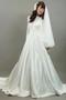Bridal Mantilla Veil Double Layer Medium White W Camellia Comb Floreti