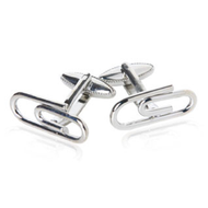 Paperclips Cufflinks Fun Gift Unisex