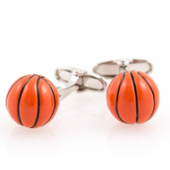 Basketball Cufflinks Fun Gift Unisex